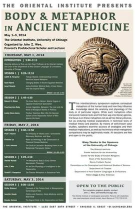 Body & Metaphor in Ancient Medicine Conference Poster