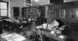 Oriental Institute Library in Haskell Hall
