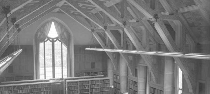 Research Archives Reading Room, viewing south (circa 1970s)