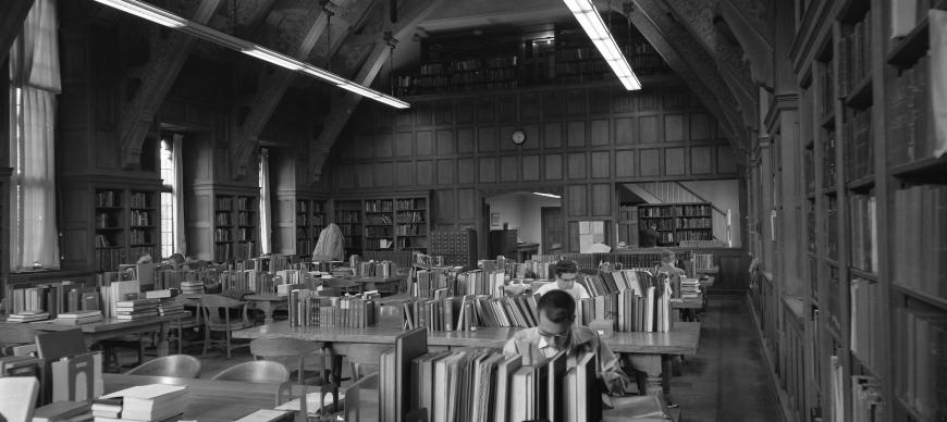 Research Archives Reading Room, viewing north (1963)