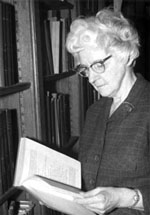 Johanne Vindenas, Oriental Institute Librarian 1924-1964
