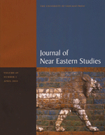 Journal of Near Eastern Studies