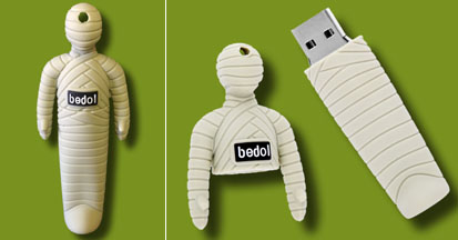 Mummy memory flash stick