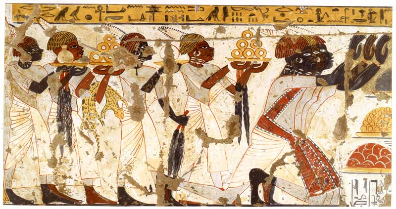 Egyptians see nubians as subjects the oriental institute for Ancient israelite cuisine