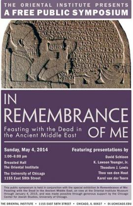 Symposium: In Remembrance of Me