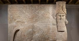 Image: A7369, Lamassu from the Oriental Institute collections
