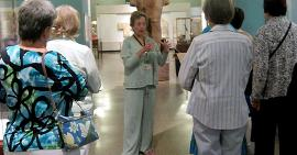 Docent guided tour at the Oriental Institute
