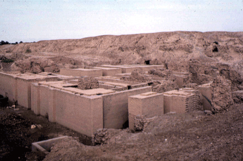 Archaeological Site Photographs Mesopotamia Babylon