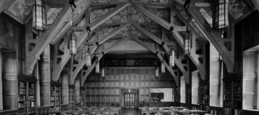 Research Archives Reading Room, viewing north (1931)