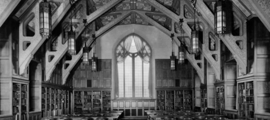 Research Archives Reading Room, viewing south (1931)