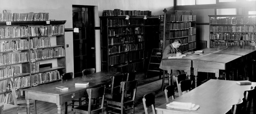 Haskell Hall Library (circa 1920s)