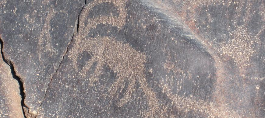 Ibex rock art