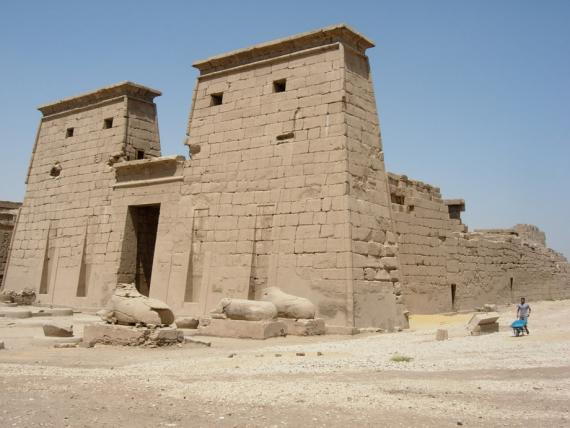 The Temple of Khonsu in Karnak.  Photo by Ray Johnson