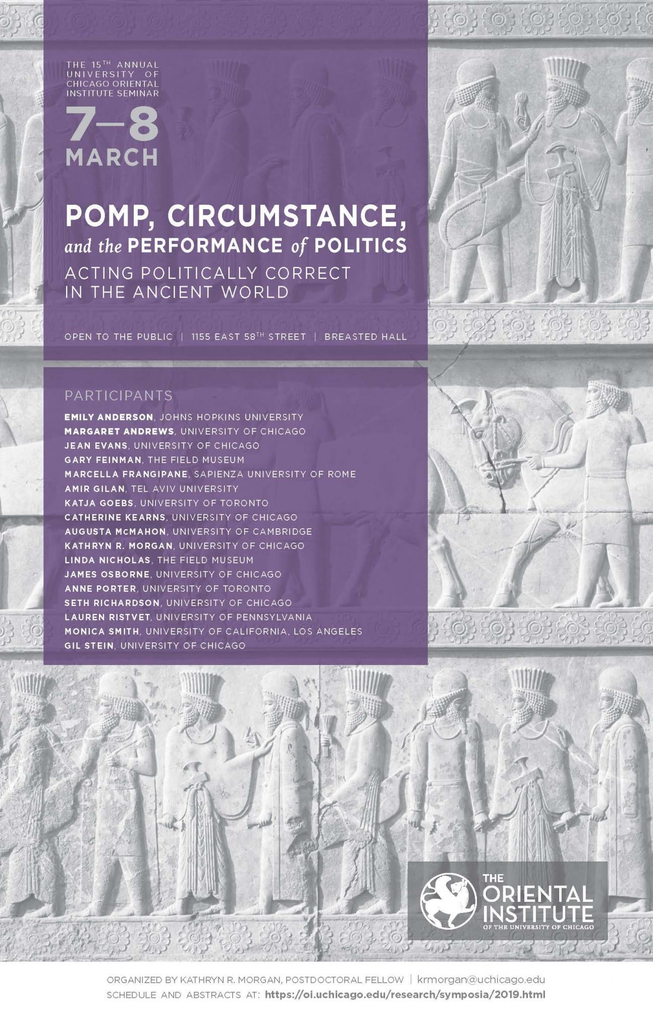 Pomp, Circumstance, and the Performance of Politics: Acting