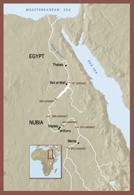 New Kingdom And Napatan Dynasty BC OLD The Oriental - Map of egypt during the new kingdom
