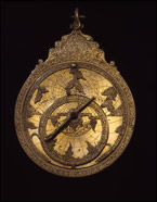 Astrolabe. Brass, Iran, ca. AD 1700, Purchased in Aleppo, Syria, 1920. OIM A4091.
